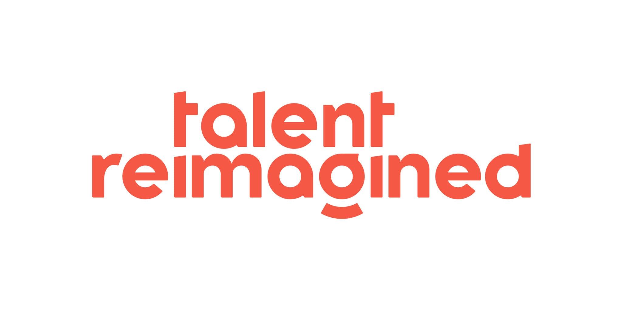 2020-03-24 - Talent Reimagined - Logo - v1 - Blazing Orange - AS